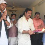 बीजेपी कार्यालय में जीत की खुशी के बीच मनाया गया दीपोत्सव, माता महालक्ष्मी का किया गया पूजन