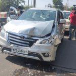 शिवराज- कमलनाथ के काफिले की गाड़ियां आपस में टकराईं, बड़ा हादसा टला