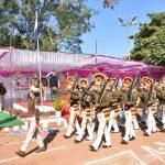एसडीईआरएफ का मनाया गया 74 वा  स्थापना दिवस, पेश की गई आकर्षक परेड