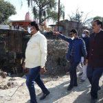 विधायक तुलसी सिलावट ने विभिन्न विकास कार्यों का लिया जायजा