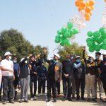 शहीद देवेंद्र सिंह स्मृति जिला स्तरीय फुटबॉल स्पर्धा का आईजी ने किया शुभारंभ