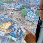 सीएम शिवराज ने बाढ़ प्रभावित क्षेत्रों का किया हवाई दौरा, प्रभावितों को हरसम्भव मदद के दिए निर्देश