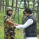 सांसद शंकर लालवानी ने सैन्य जवानों और कश्मीरी पंडितों के साथ मनाया रक्षाबंधन का पर्व
