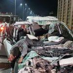 इंदौर में भीषण सड़क हादसा, खड़े टैंकर में जा घुसी बेकाबू कार, 6 की मौत…!