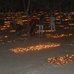 पितरेश्वर हनुमान के स्थापना दिवस पर 16 लाख दीपों से जगमगाया पितृपर्वत, रचा विश्व कीर्तिमान