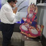 पूजा- अर्चना के साथ दीप जलाकर मनाया गया चेटीचंड पर्व