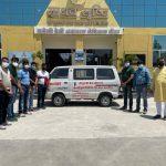गुरुजी सेवा न्यास ने क्रेडाई यूथ वेलफेयर ट्रस्ट की मदद से शुरू किया शव वाहन का संचालन, लगेगा न्यूनतम शुल्क