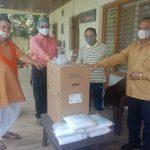 मोघे- मूलचंदानी ने गंगराड़े समाज को सौंपी ऑक्सीमेड मशीन