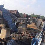 बिलासपुर से कटनी जा रही मालगाड़ी दुर्घटनाग्रस्त, रेल यातायात प्रभावित